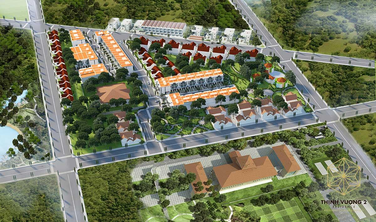 Khu dan cu Thinh Vuong 2 Residence - Khu dân cư Thịnh Vượng 2 Residence Củ Chi